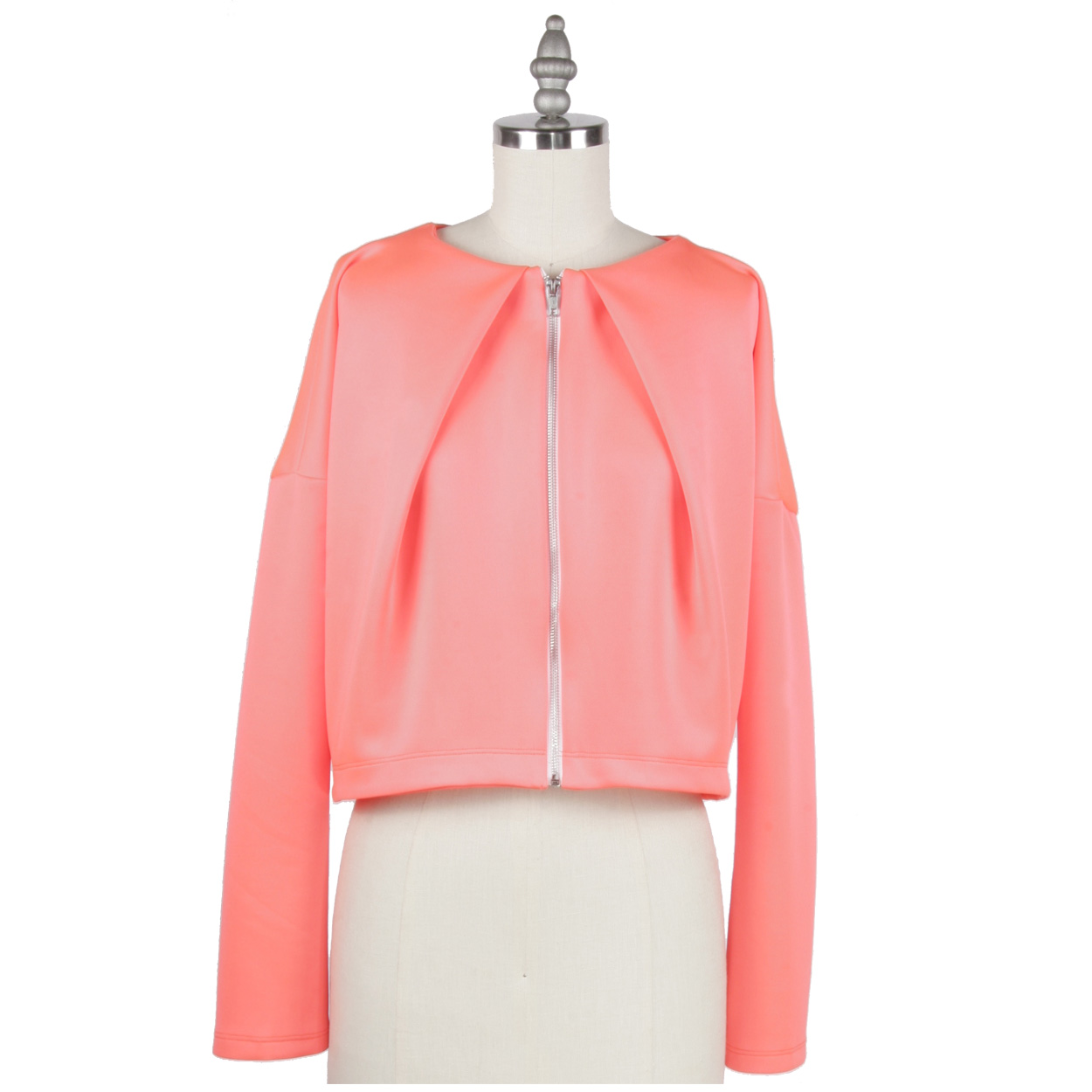 CORAL NEO DRAPED CARDI FRONT.jpg