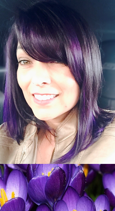 Our lovely Jeannine had her hair vamped up for spring by our stylist Kim!      Redkin and Provana gives us this high contrast, vivid violet. Together alongside Olaplex and other J Beverly colors, we have any and every shade of those spring flowers you can imagine! Come get a fun and fresh refined look at Paparazzi with spring colors that inspire you!