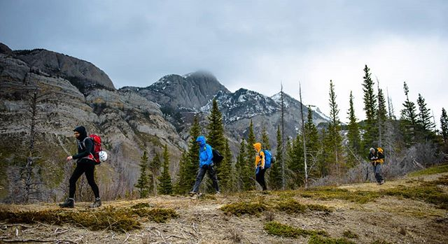 Spring is one of the best times for hiking in Alberta, no bugs and cooler temperatures!   www.redlinephoto.ca   #jasper #explorealberta #travelalberta #junowall #hikealberta #getoutside #jaspernationalpark #cangeo