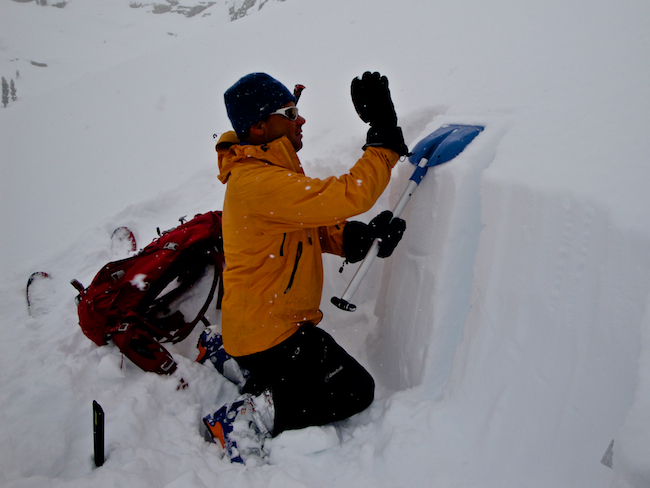 Evaluating snow pack stability