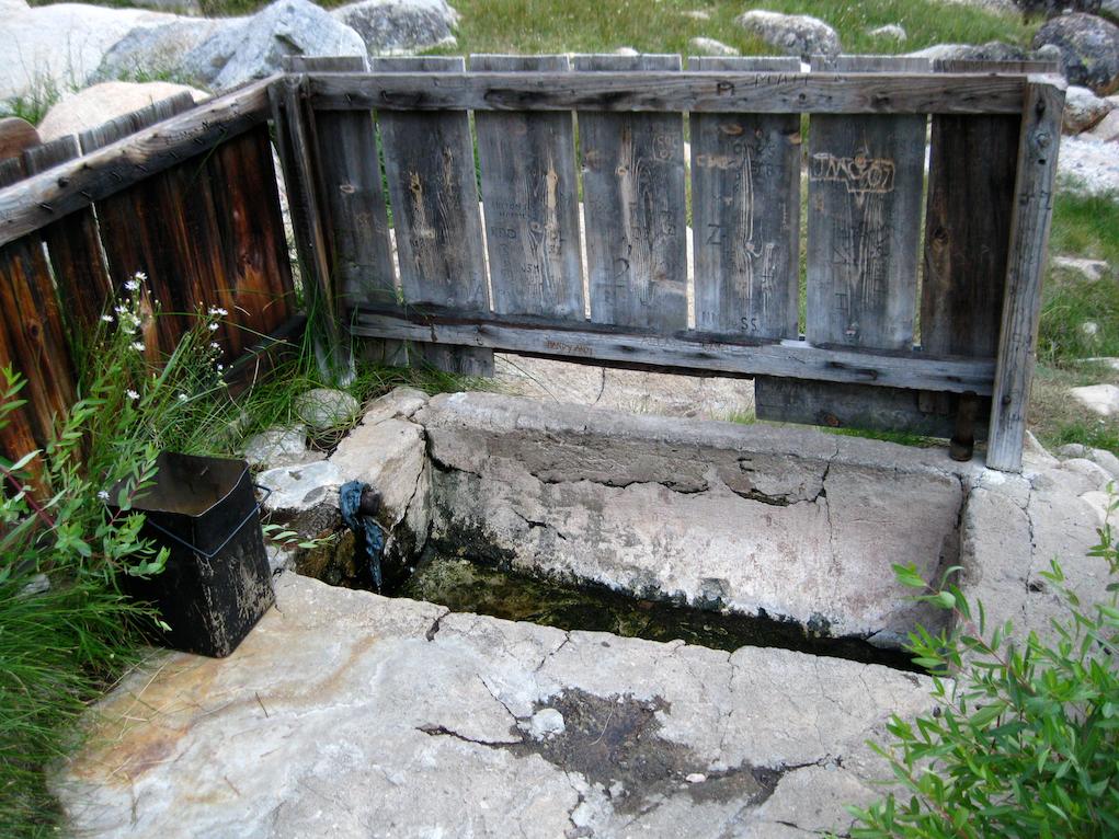 Kern hot springs near the Kern River