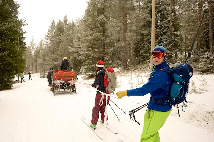 Alta Badia Horse Ski Lift