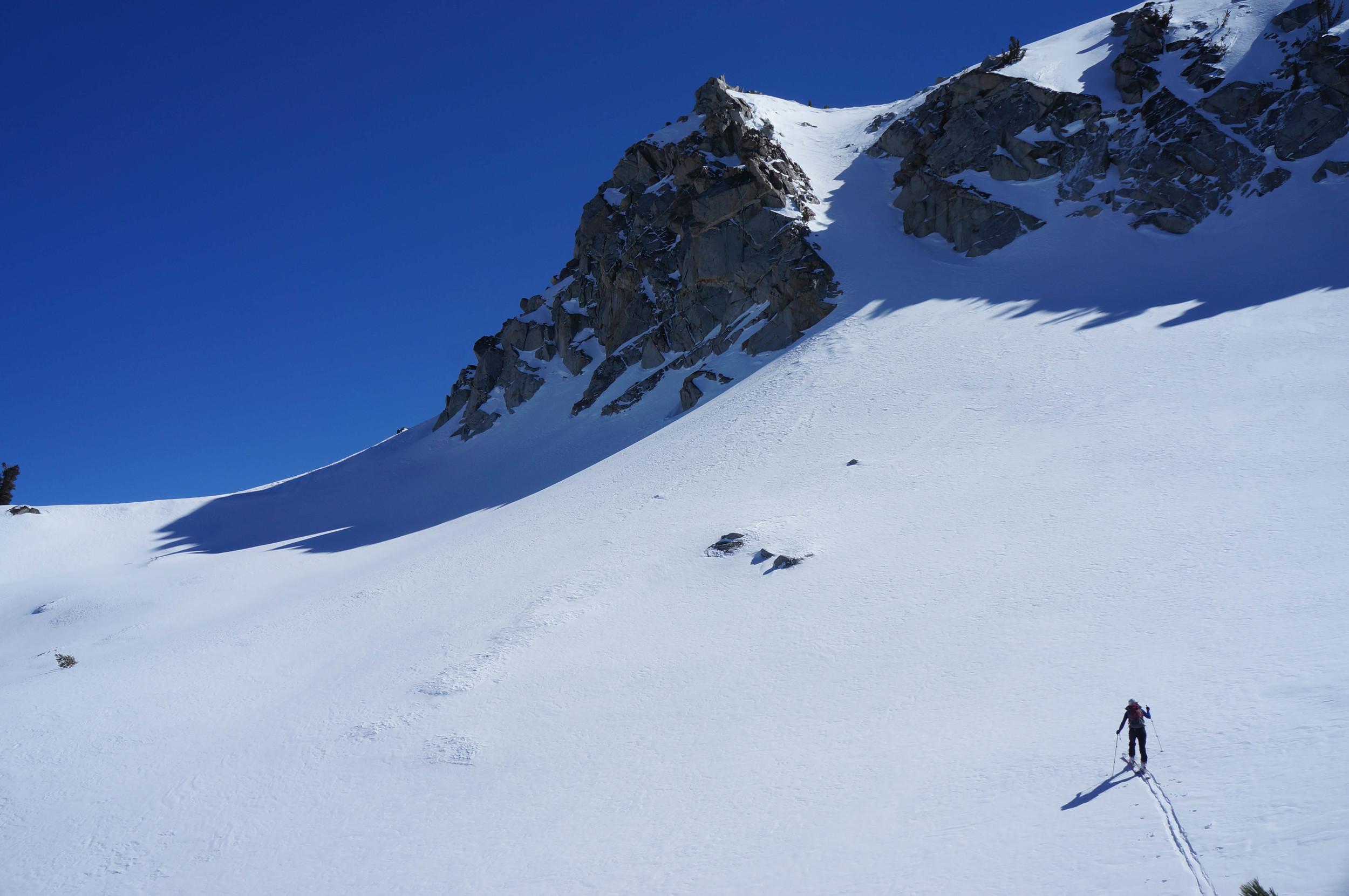 Mammoth backcountry skiing