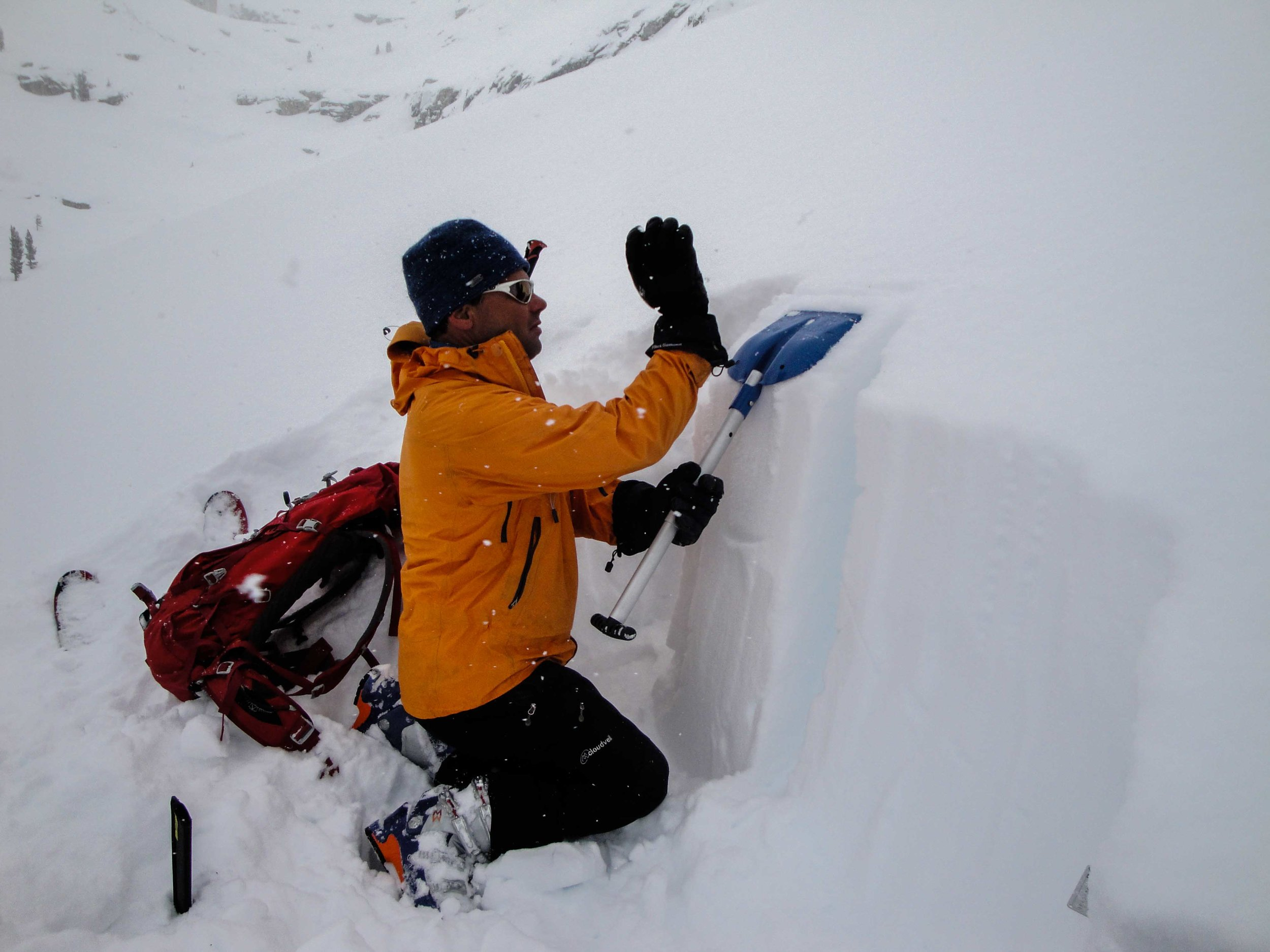 Snow pack evaluation