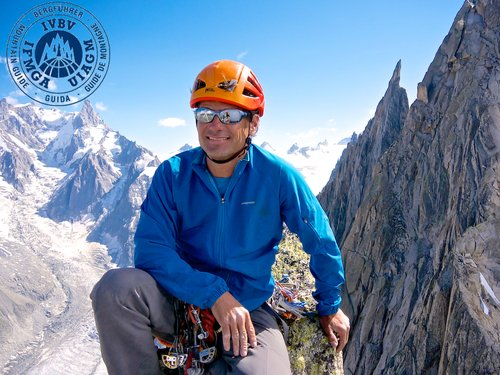 Owner & Director lead alpine, rock & ski guide   IFMGA/UIAGM Internationally Certified Mountain Guide AMGA Certified Alpine, Rock & Ski Mountaineering Guide