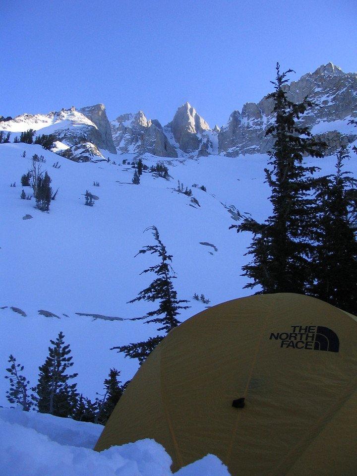 Matterhorn Peak from camp