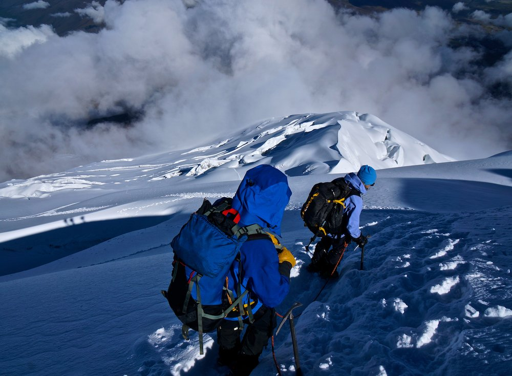 Descending Cotopaxi