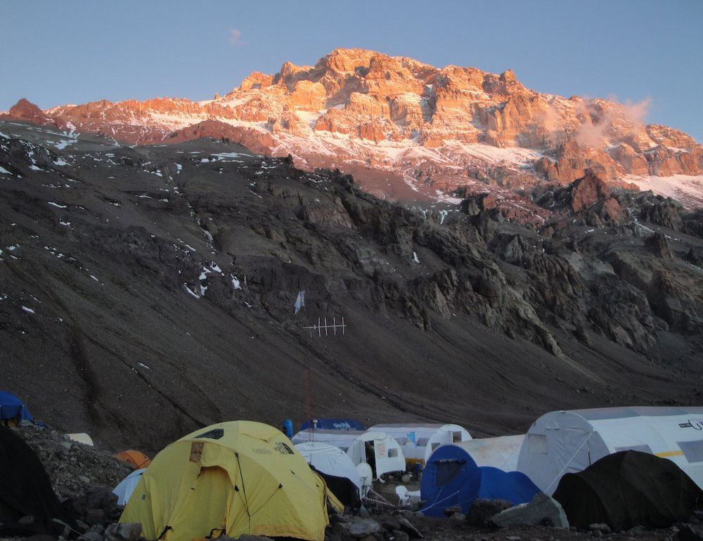 Aconcagua base camp