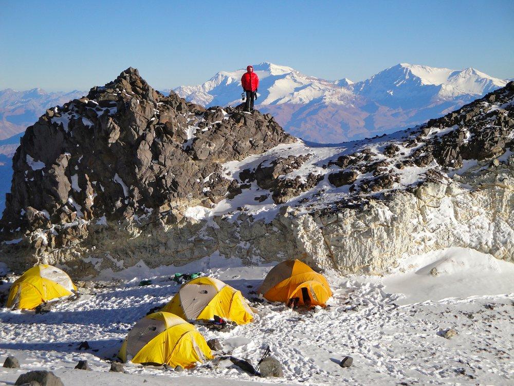 High camp on Aconcagua