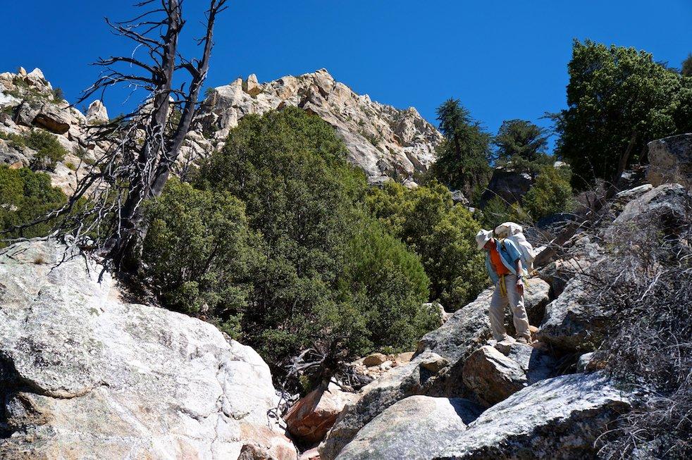 Climbing Picacho del Diablo