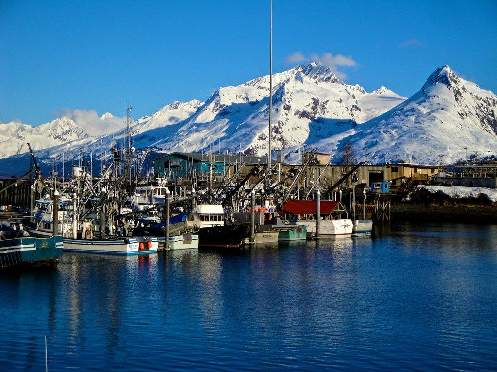 The port of Valdez