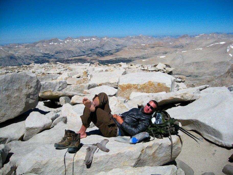summit mount whitney