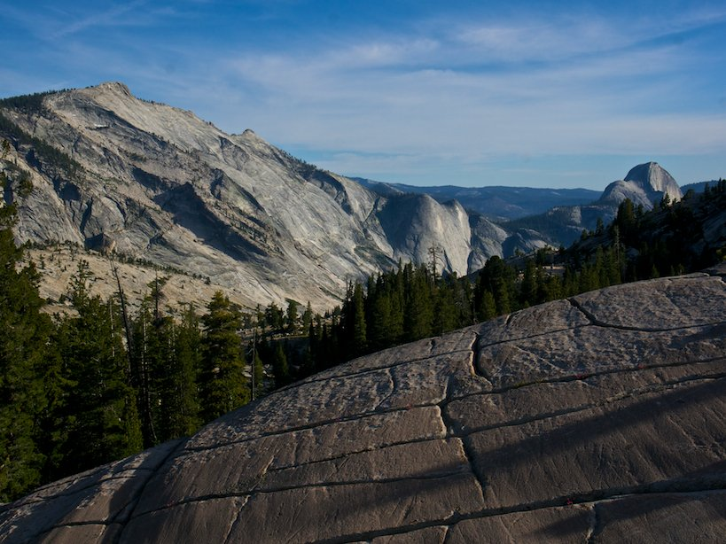 half dome clouds rest