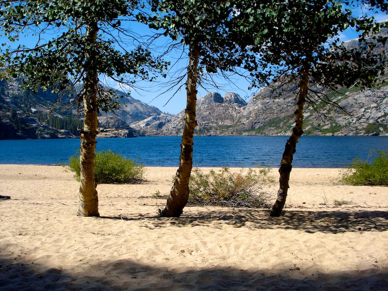 Beach at Benson Lake