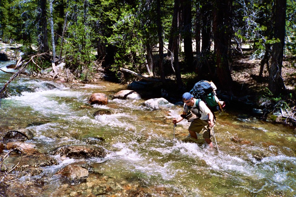 Creek crossing Yosemite
