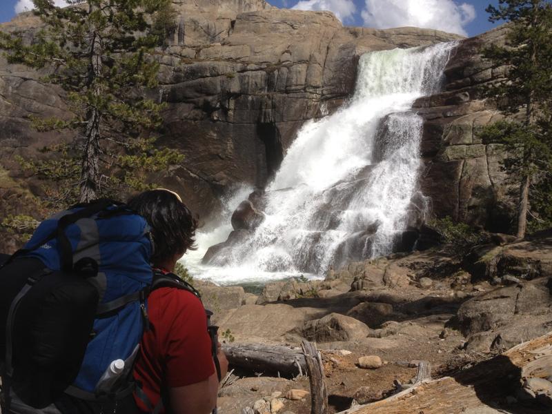 Waterfall at Glen Aulin