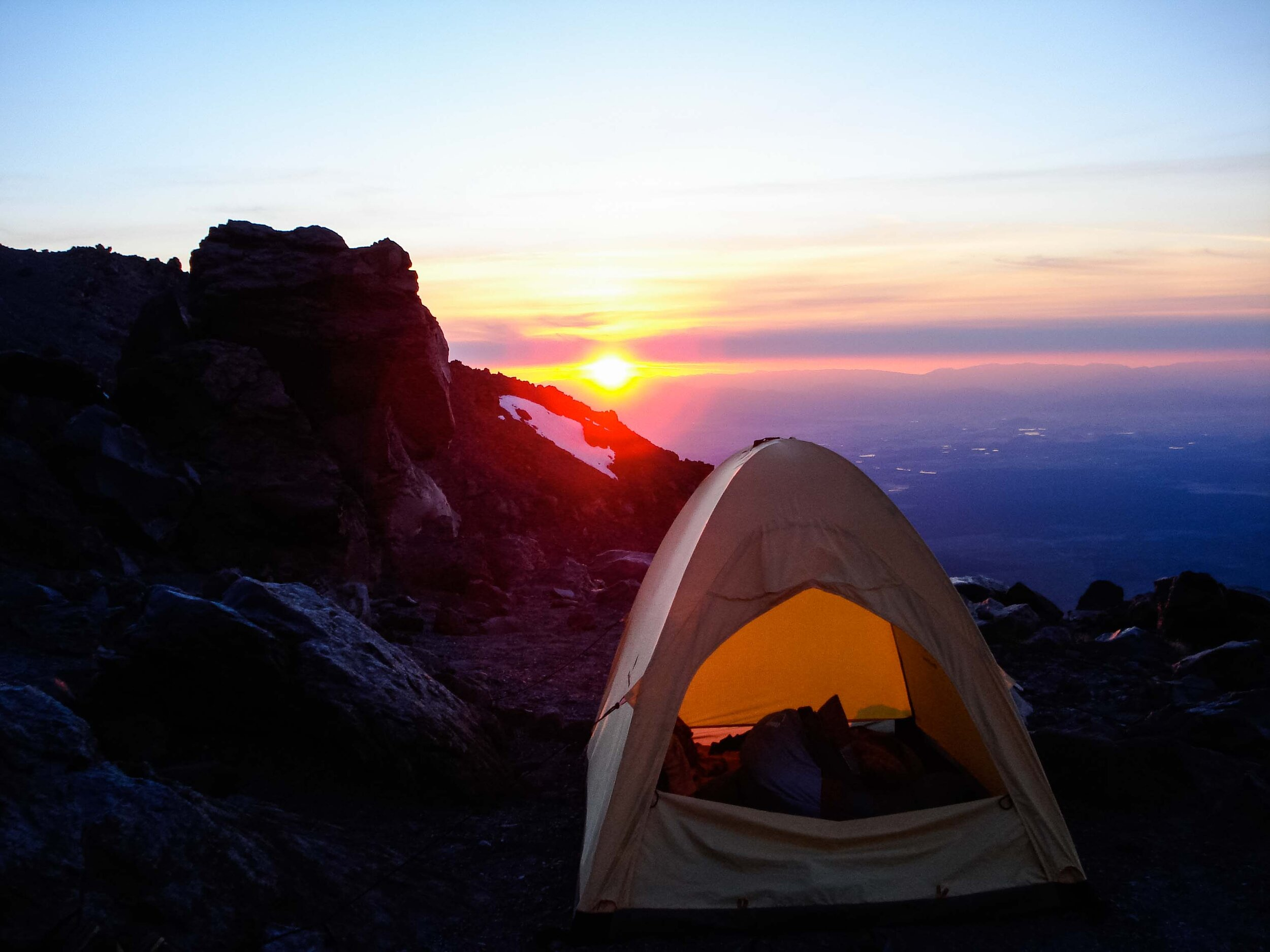 Mount Shasta Hotlum Bolum Ridge Climb International Alpine Guides