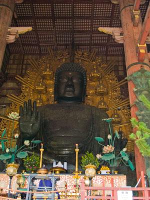 Big Buddha in Todai-ji