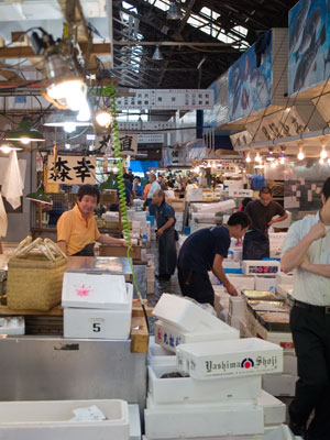 Tsujiki Fish Market - Worlds Biggest Fish Market