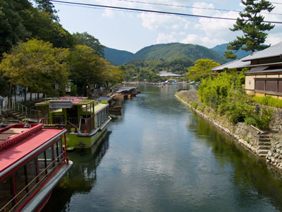 River Boats in Arashiyama