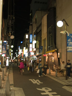 Shinsaibashi in Osaka