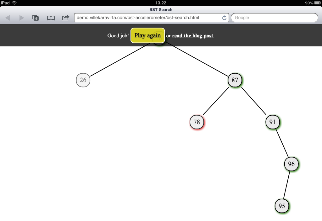 Binary Search Tree Search Assignment: Solved