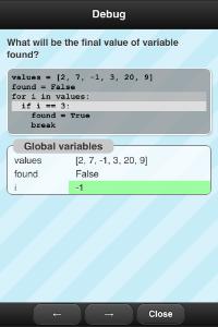 Quiz&Learn Python Debugger