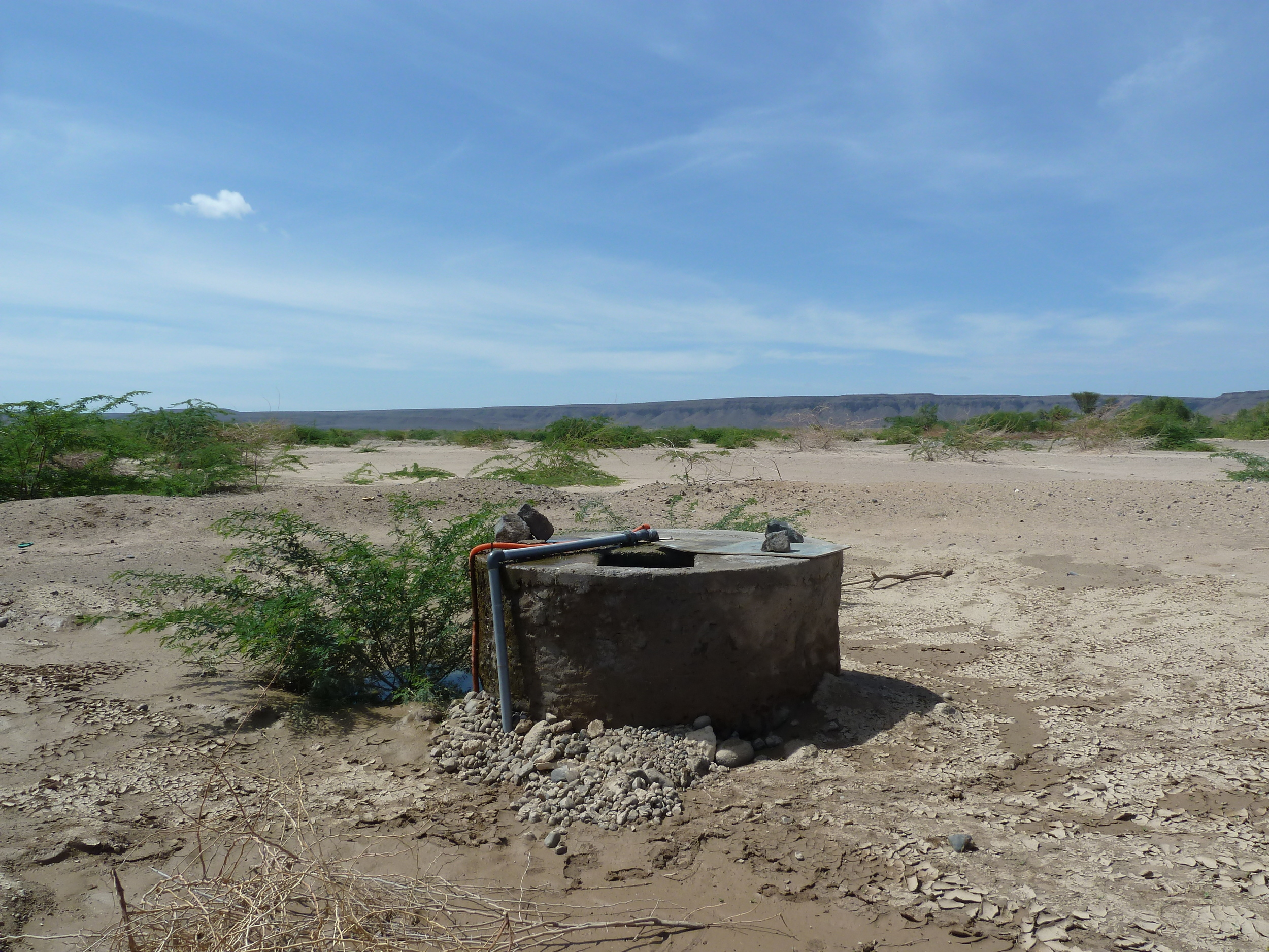 A water source in Djibouti : copyright UNICEF