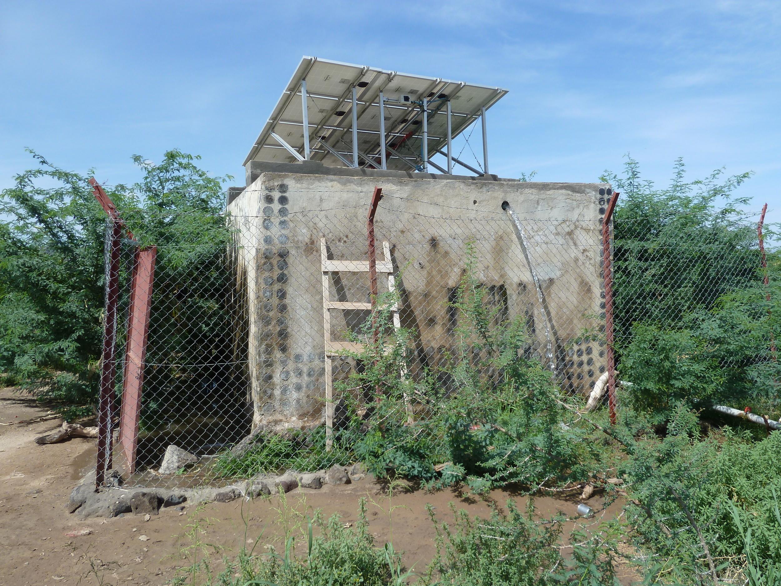 Water facilities in Djibouti : copyright UNICEF