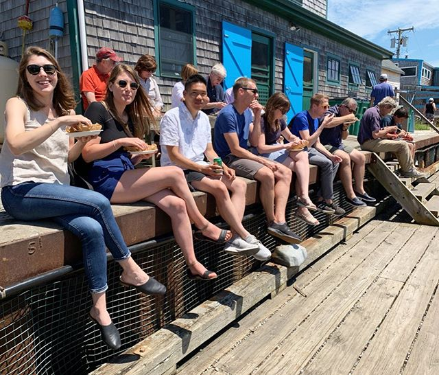 We had an office outing this week! A lot of doughnuts, iced coffee, lobster rolls, and pizza were consumed. Had lunch with John Kerry (can you spot him?) and had Martha's Vineyard Museum photographed by @choifoto. All in all, a day well spent on Martha's Vineyard with the entire crew.