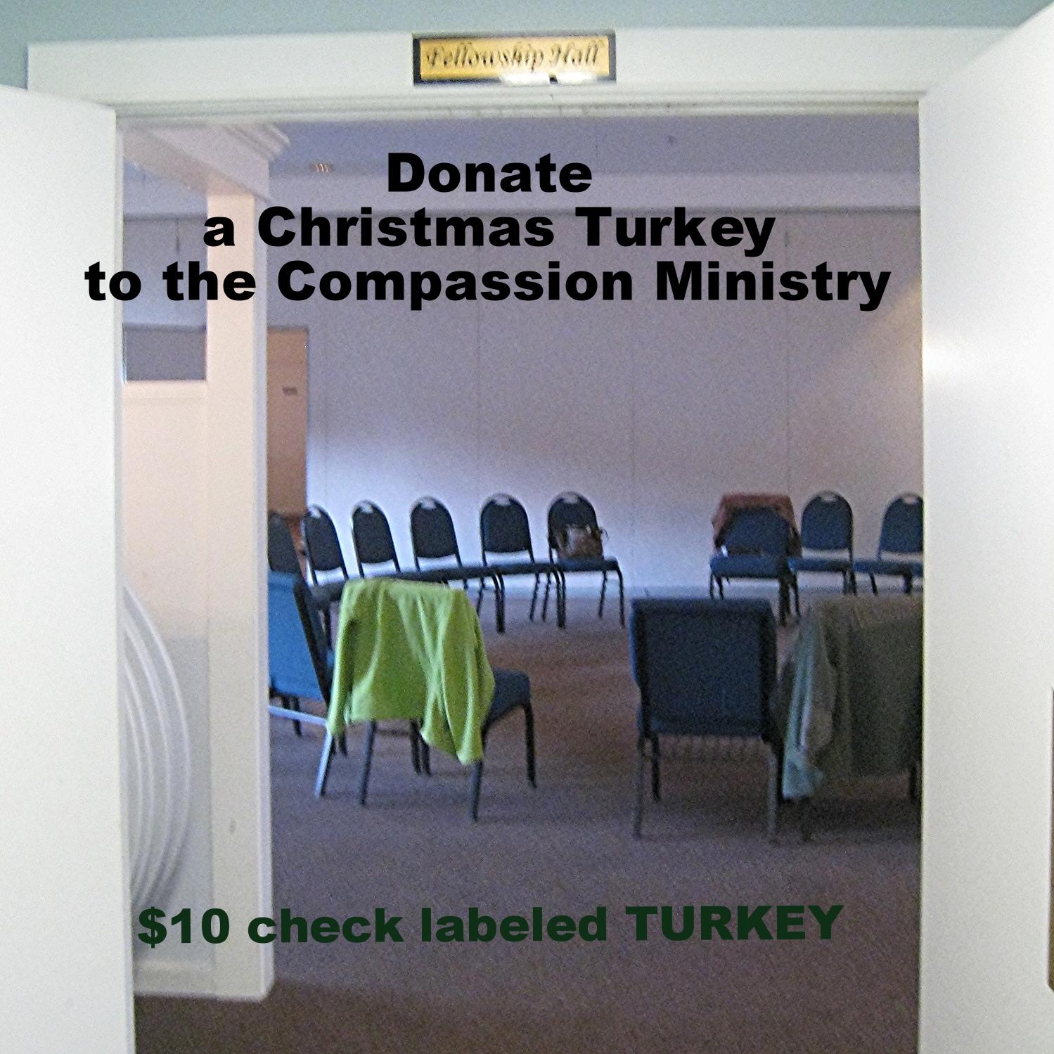 Donate Christmas Turkeys