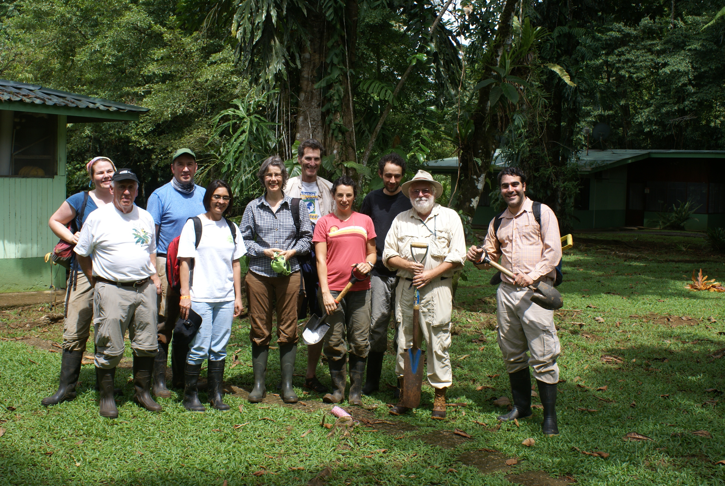 Site Installation, August 2014, La Selva Biological Research Station, Costa Rica