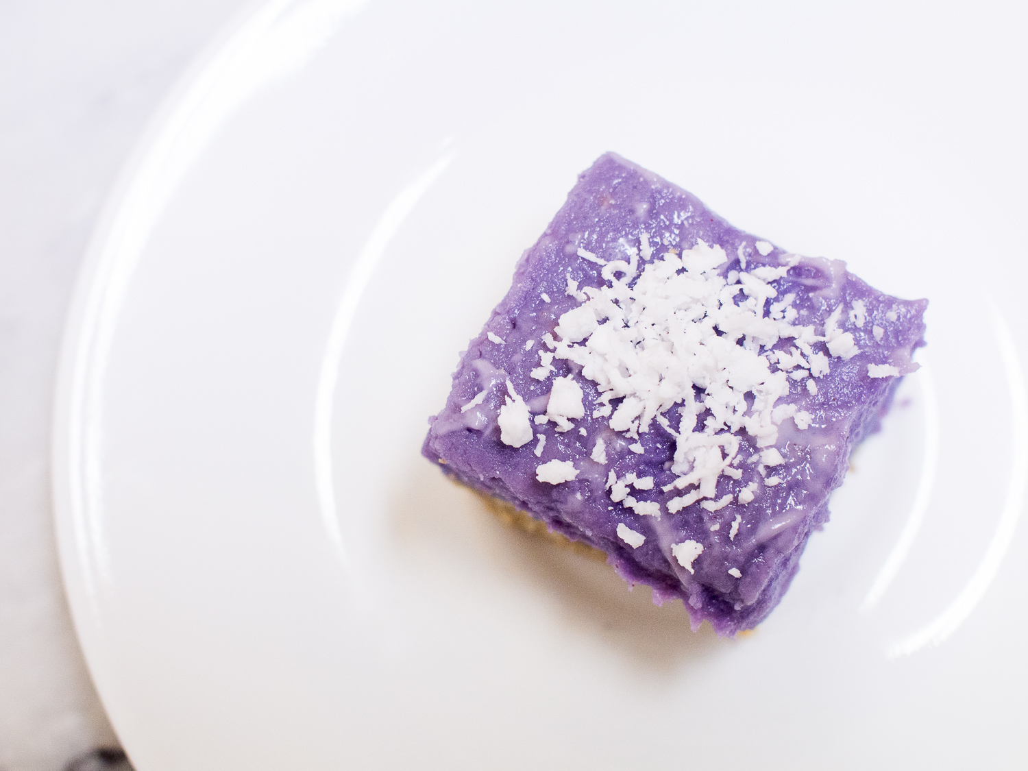 More Vegan Ube Pie Bars