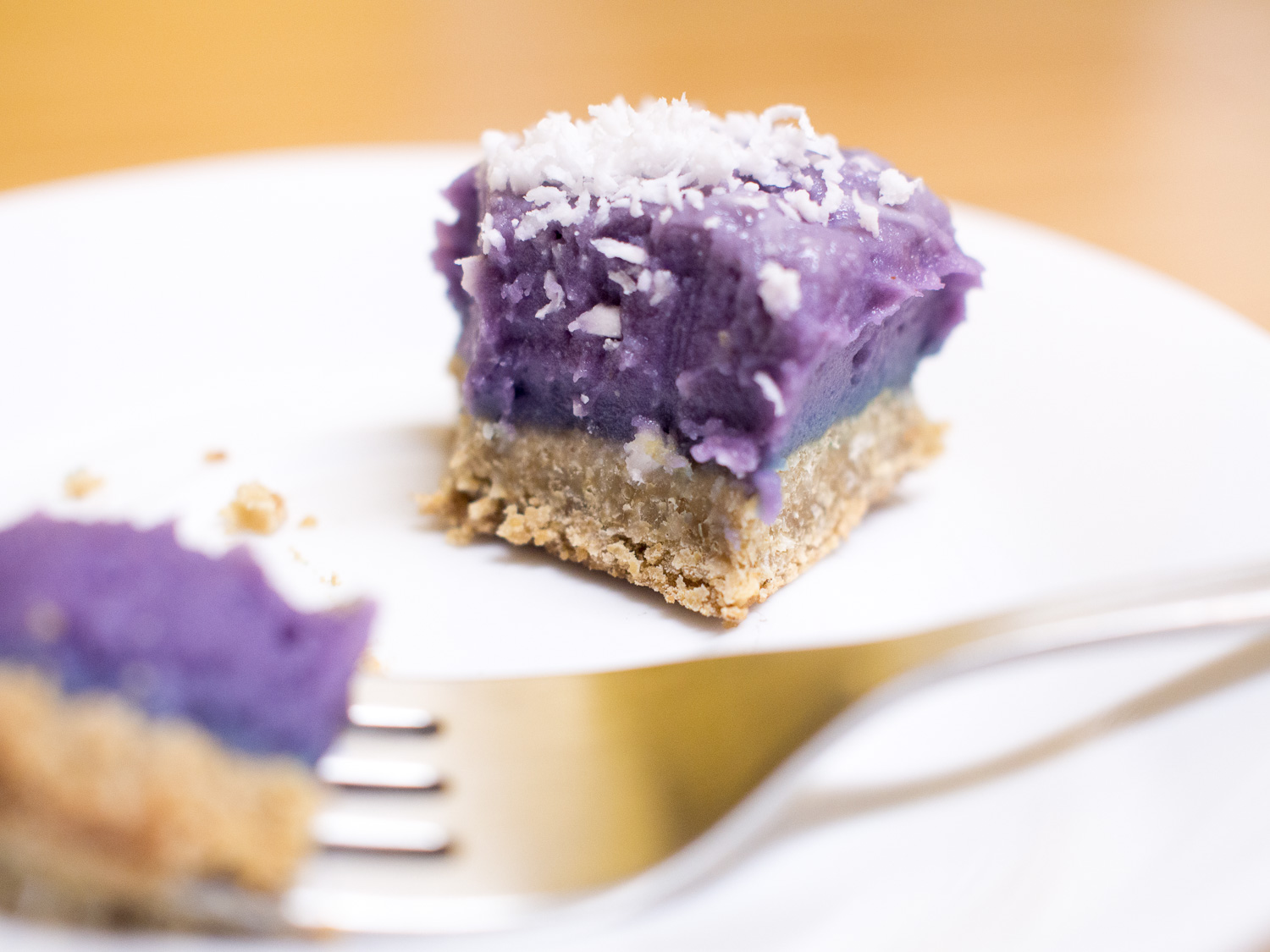 Vegan Ube Pie Bar