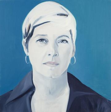Portrait by Shelley Adler.