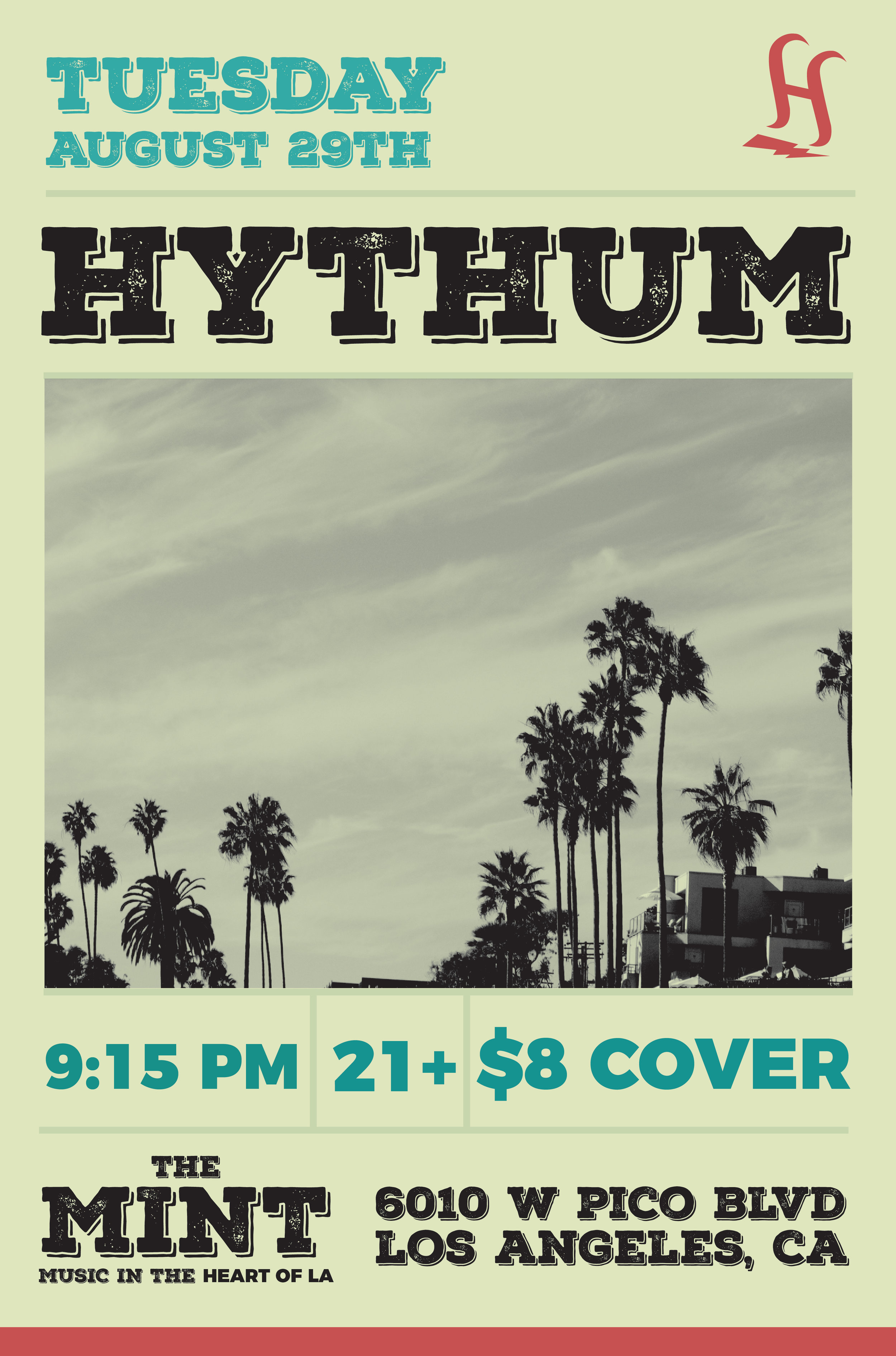 Hythum Gig Poster