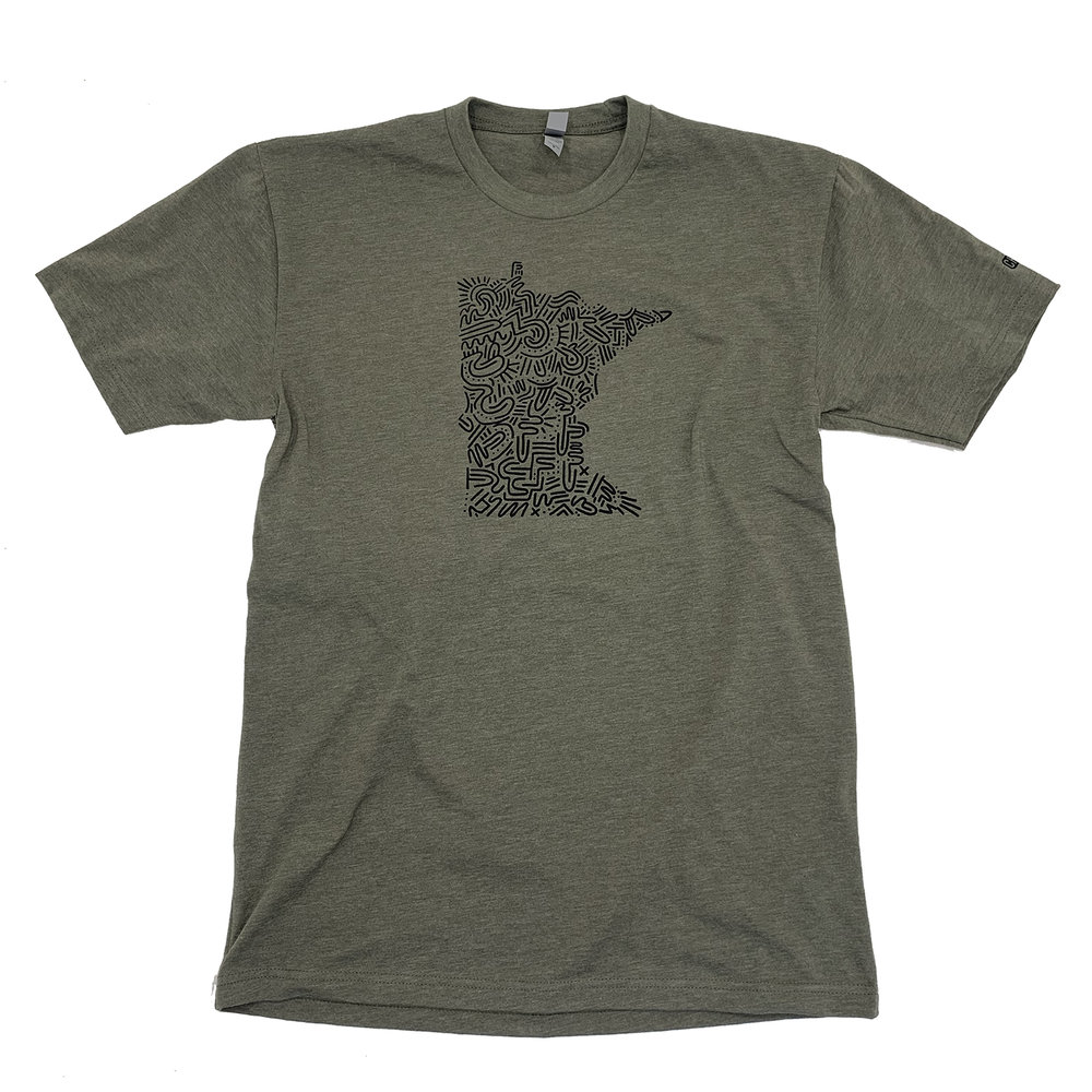 DECEMBER 5TH 2018    Just dropped this Minnesota T-shirt collaboration with my old employer CHUX. The T-shirt is now available for purchase. Thanks  Mike Ritter  for making this happen.  You can order the t-shirt with this link :  http://www.chuxprint.com/shop/collab23myles-wy6dp?fbclid=IwAR3YugzDZ06sG3NLoVRPF2nrJ1iz9M3mMvt5MQoYZx-EcamFKJVLEPtXos8