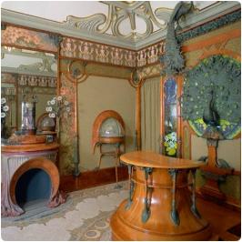 Alphonse Mucha, tienda Fouquet