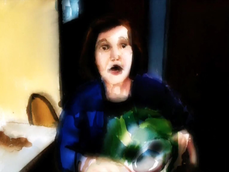 """Birth of tragedy II"", 2009. Video, 1'"