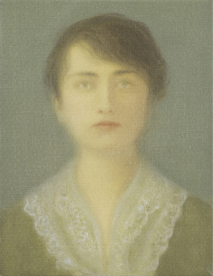 Chechu Álava. Camille Claudel, óleo sobre lienzo. 35 x 27 cm. 2012