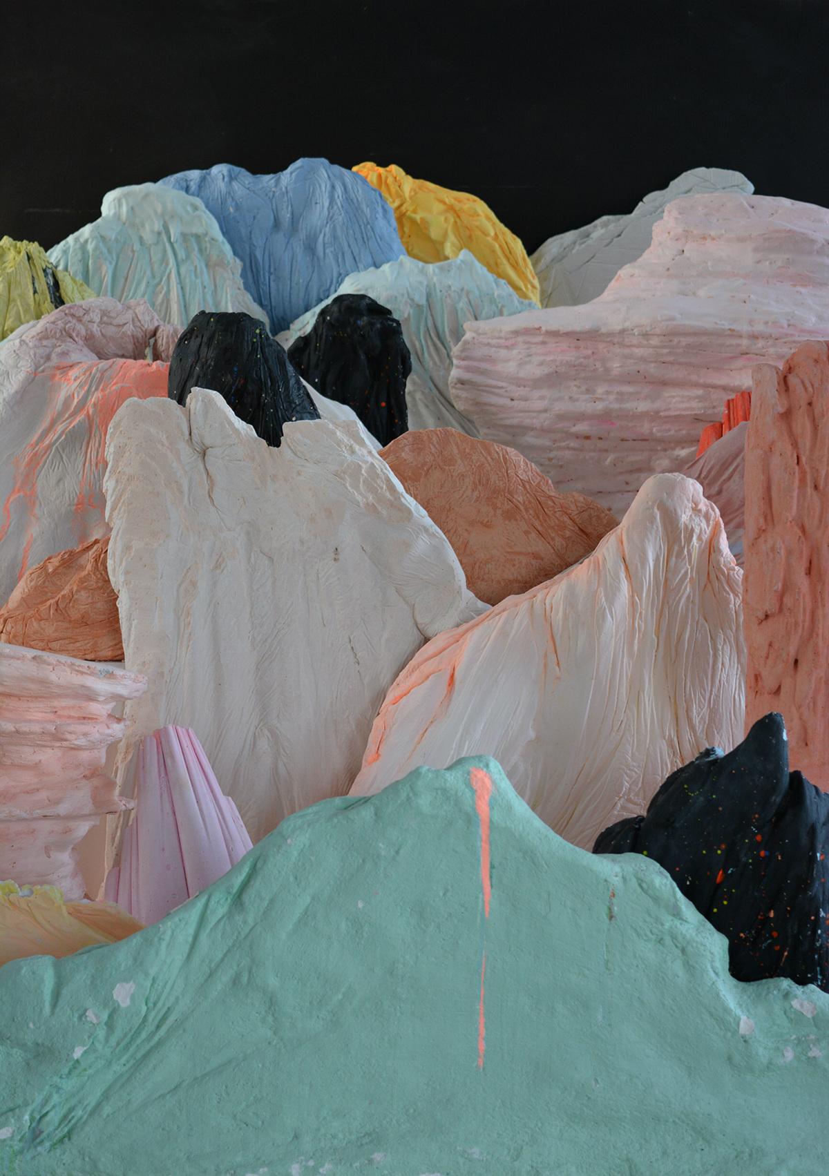 Possibility of landscape  Fases del proceso, Fotografía a color, 2014