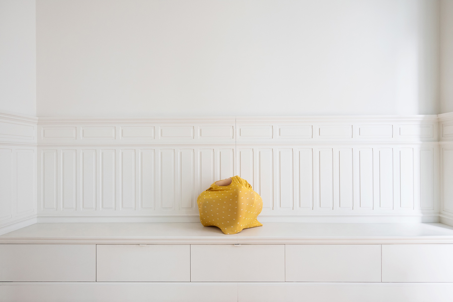 "Verónica Vicente, ""Figuras decorativas #6"", 2018. Impresión Gliceé de tintas pigmentadas sobre Photo Rag Brightwhite. 90x124 cm"