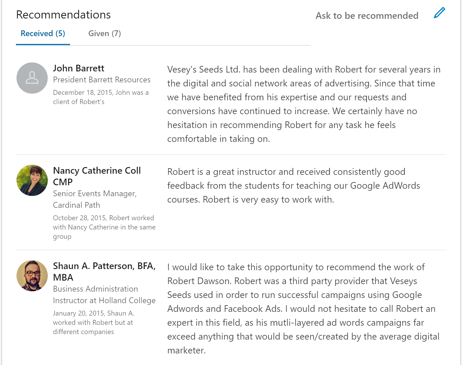 Robert_Dawson_Recommendations.PNG