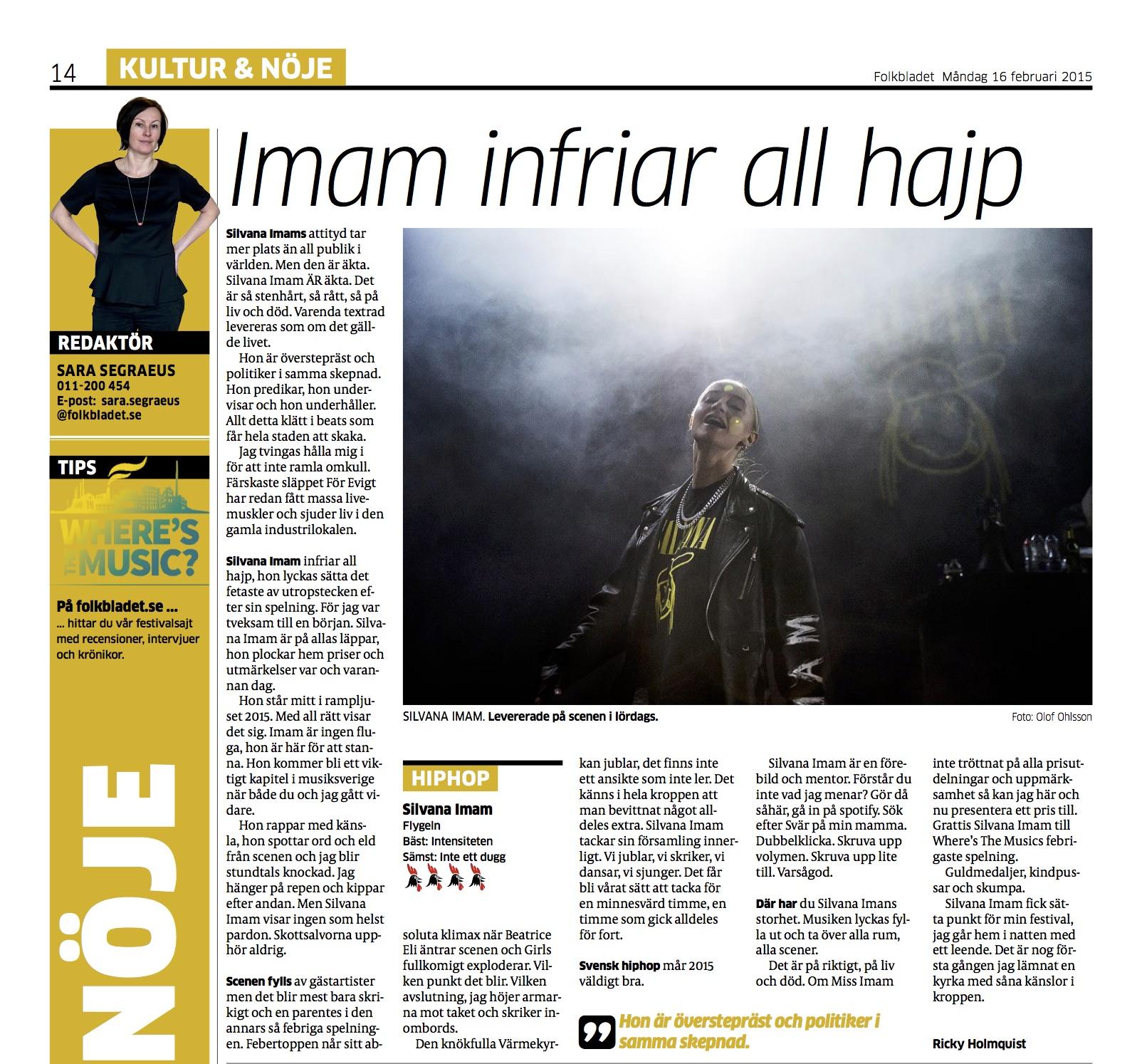 Folkbladet rec - Silvana.jpg