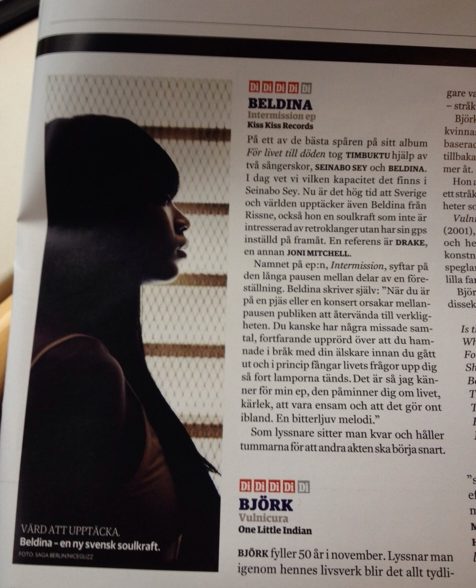 Beldina - recension i DI Weekend.jpg