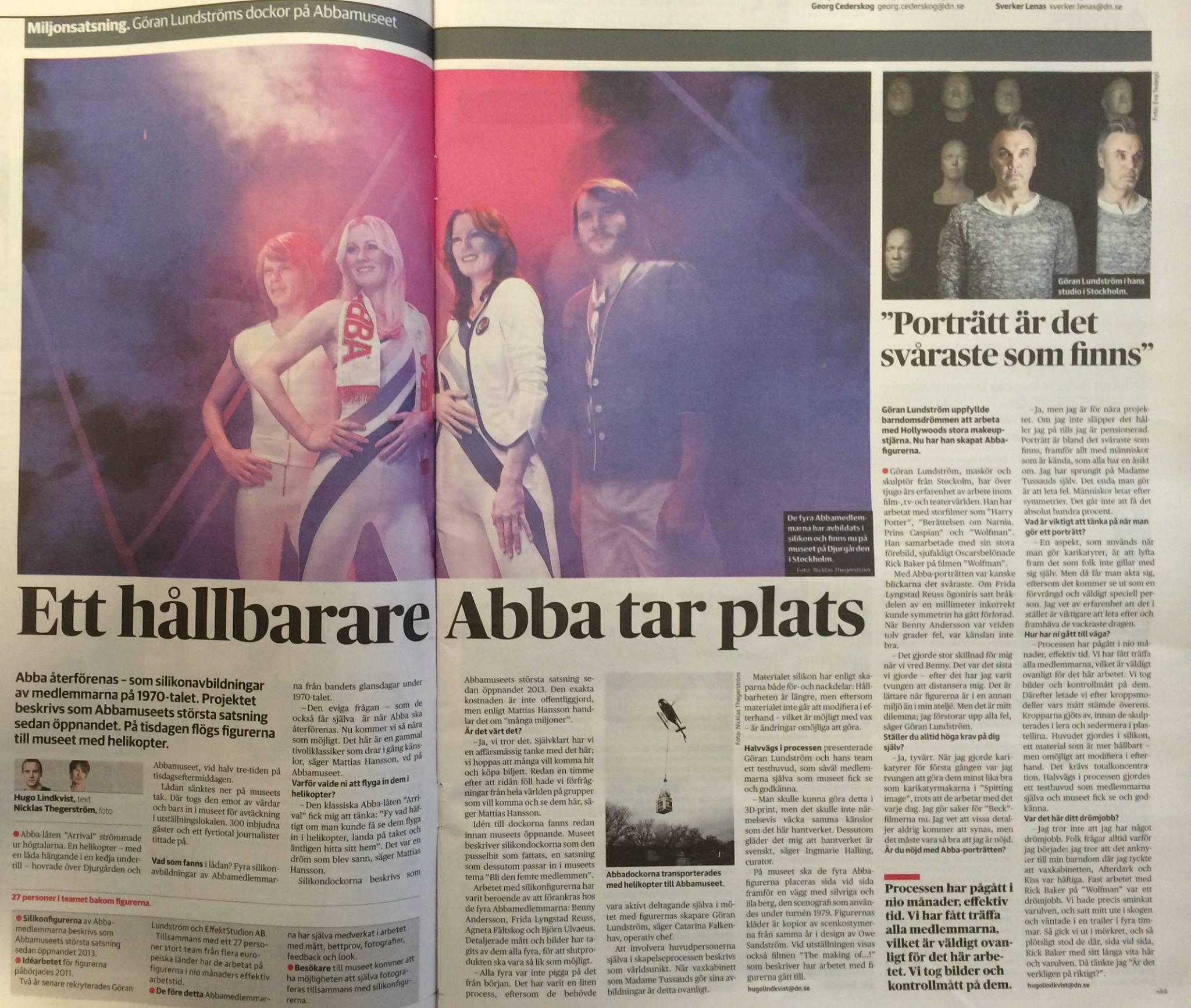 ABBA museet uppslag DN 4 mars 2015.jpg