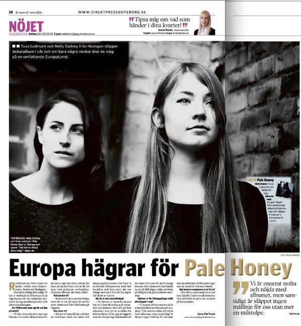 Direktpress GBG intervju - Pale Honey.png