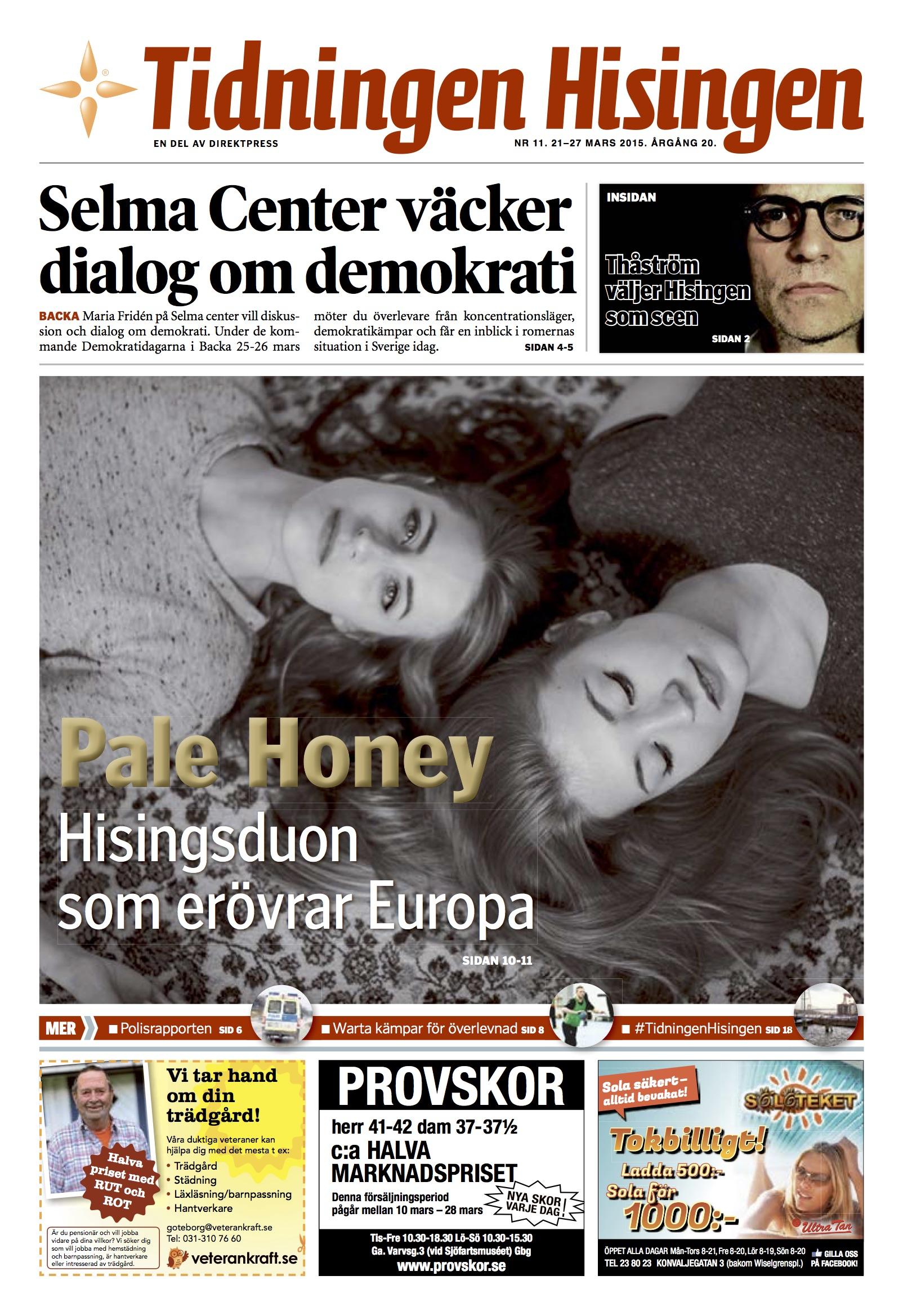 Direktpress GBG omslag - Pale Honey.jpg