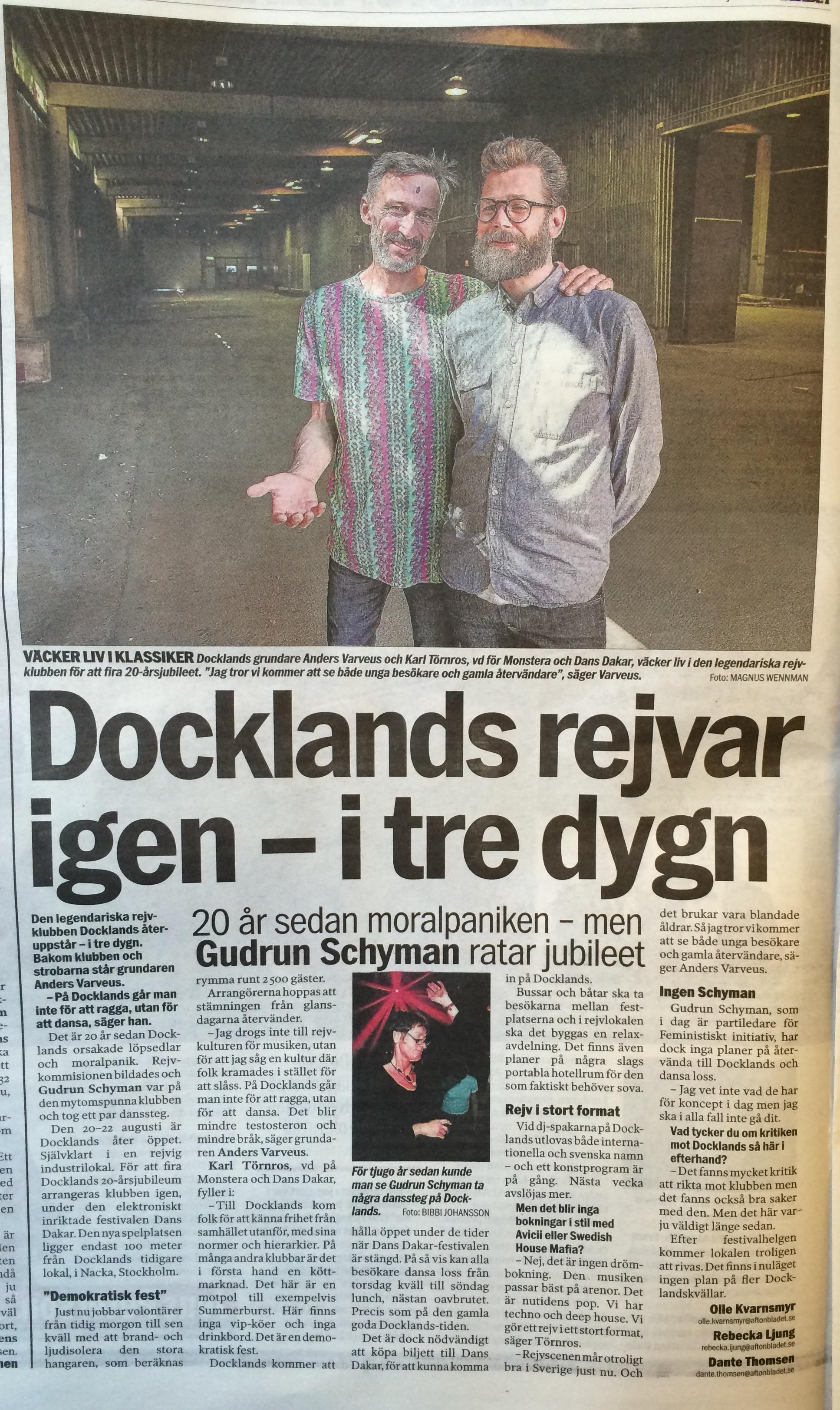 Aftonbladet intervju - Docklands.jpg