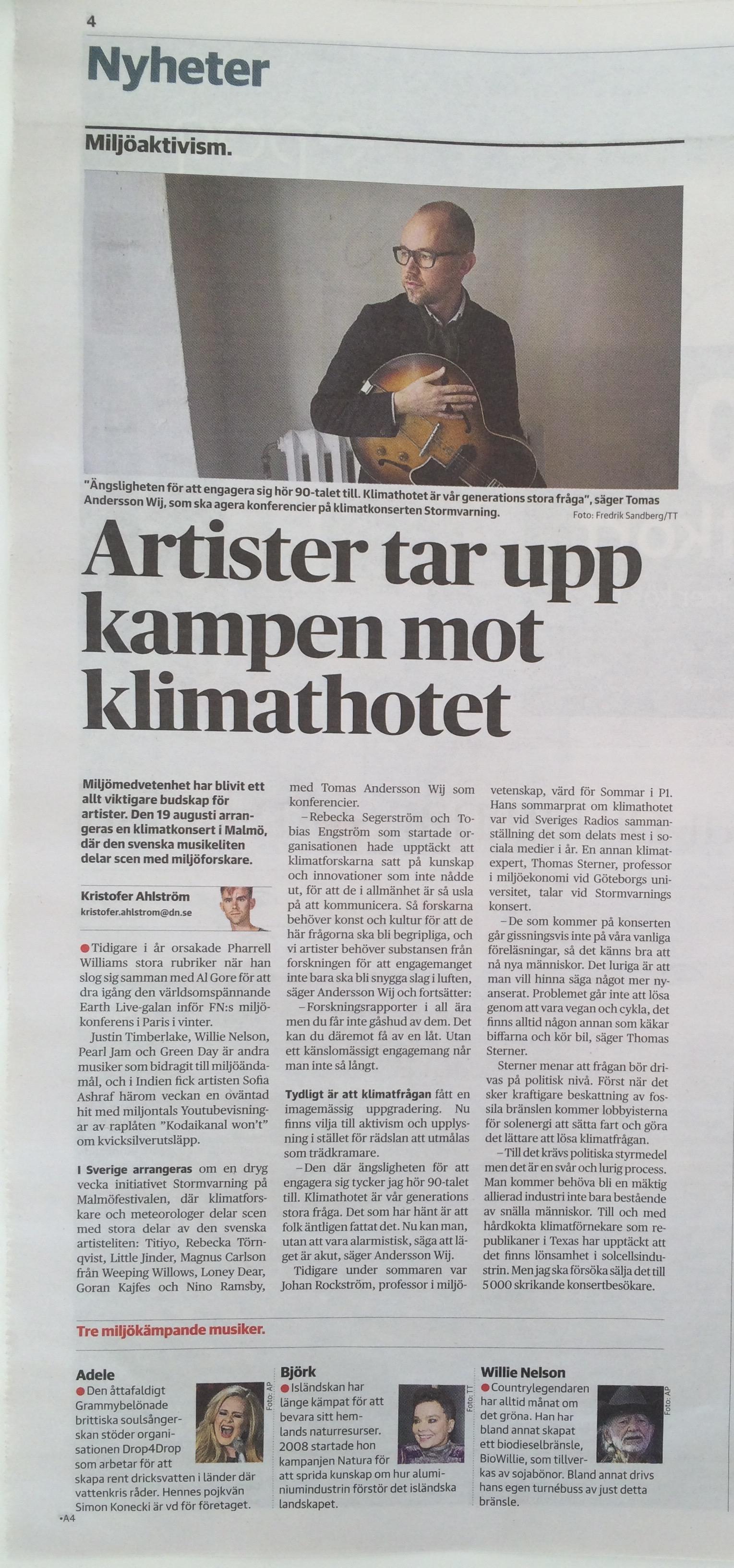 DN Kultur intervju - Stormvarning.jpg